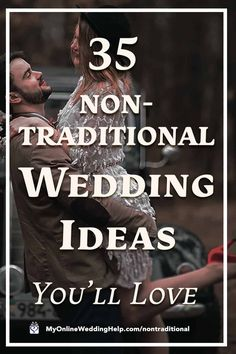 35 Non-traditional Wedding Ideas You May Not Have Thought About - My Online Wedding Help. Wedding Planning Tips & Tools Advice For Bride, Wedding Advice, Wedding Programs, Wedding Ideas, Fun Wedding Vows, Elopement Wedding, Wedding Blog, Wedding Photos, Dream Wedding