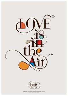Paris Pro |  New Typeface for Fashion by Moshik Nadav by Moshik Nadav Typography