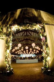 Beautiful event lighting ideas & wedding inspiration via AislePlanner.com