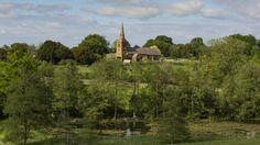 The parkland was designed to show these wondeful view © National Trust