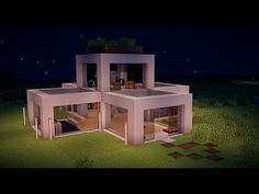 http://minecraftstream.com/minecraft-tutorials/minecraft-modern-house-tutorial-ep-1/ - minecraft modern house tutorial ep 1  hey guys crazymasterdude back for a viideo where i do a tutorial about a modern house sorry i havent beeen uploading