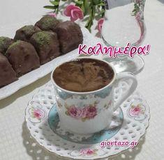 Night Pictures, Good Morning, Pudding, Mugs, Tableware, Desserts, Food, Design, Buen Dia
