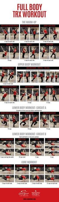 August Workout: Full Body TRX Workout