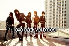 Black veil brides will always be that one special band to me. I love other bands, but bvb will always be that special one to me Emo Bands, Music Bands, Rock Bands, Black Viel Brides, Black Veil Brides Andy, Jake Pitts, We Are The Fallen, Bvb Fan, Just Keep Walking