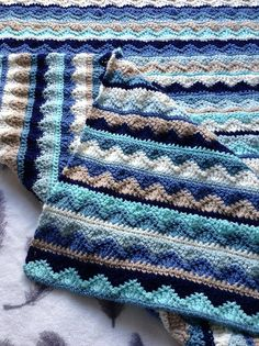 [Easy] Summer Mist Throw – Free Pattern #crochet