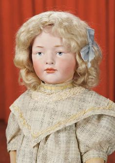 Curtain Call- The Collection of Billie Nelson: 341 Very Rare German Bisque Character,149,by Hertel and Schwab