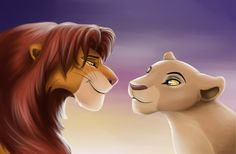 Hamlet and Ophelia at one point had a relationship similar to Simba and Nala in the Lion King. Of course things did not stay that way.
