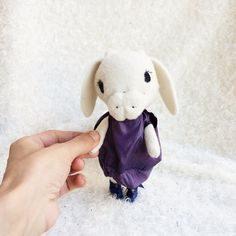 """This is an undertale Toriel Plush sewed toy. He is made of black soft fabrc and with embroidered face and stuffed with polyfil.  He is about 16 cm tall .  This undertale toriel is """"ready to ship"""".  --Each undertale plush is completely handmade. --send me message for custom undertale plush.   Thanks for looking!!"""
