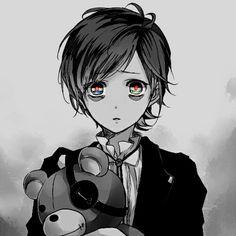 Anime. Manga. Video Game. Monochrome. Teddy. Kanato Sakamaki. Vampire. Diabolik Lovers.