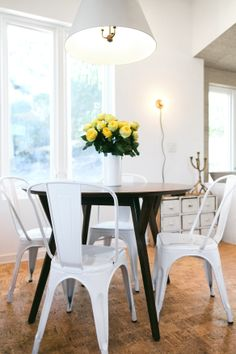 AMERICAN DREAM BUILDERS - Modular Home - AFTER - Dining Room - Designed by Lukas Machnik and Erin - #DreamBuilders @American Dream Builders @Nate Berkus
