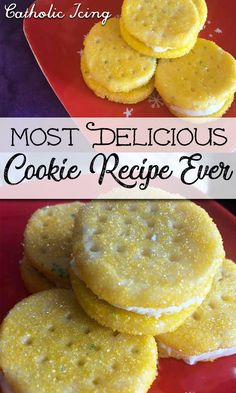 World's Most Delicious Cookie Recipe Ever (Heaven Melts) These cookies are so amazing! They melt in your mouth and you will be the talk of the party that you bring these to! Great step by step directions here with photos and extra tips. Delicious Cookie Recipes, Yummy Cookies, Sweet Recipes, Baking Recipes, Yummy Food, Amazing Dessert Recipes, Most Delicious Recipe, Best Cookie Recipes, Candy Recipes