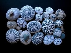Crochet Pebbles..... Squell! Love love