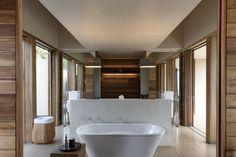 Amanwella Gallery - Explore Our Luxury Resort In Sri Lanka - Aman Bathroom Design Software, Bathroom Design Luxury, Bathroom Tile Designs, Ensuite Bathrooms, Bathroom Renovations, Small Bathroom, Master Bathroom, Bathroom Bin, Bathroom Shelves