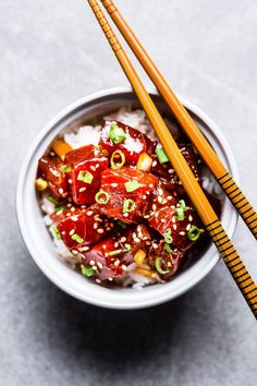 Simple things are the best things, and this Ahi Tuna Poke Bowl recipe is so darn simple and incredibly delicious. You will be indulging in one of the best things in a matter of minutes. Best Seafood Recipes, Fish Recipes, Asian Recipes, Healthy Recipes, Pollo Kung Pao, All You Need Is, Shrimp Pasta Dishes, Ahi Tuna Poke, Poke Recipe