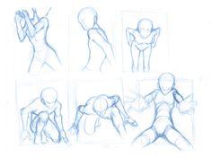 Pose Studies 10 by BBstudies.deviantart.com on @DeviantArt