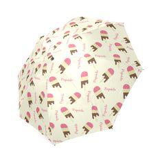 Popsicle Ice Cream Pattern Foldable Umbrella Umbrellas, Popsicles, Ice Cream, Model, Pattern, No Churn Ice Cream, Pallets, Ice Cream Pops, Gelato