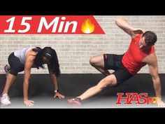 Burner Workout: Cardio Abs Exercises to Lose Belly Fat (and all other fat!) | HasFit, 15 minutes, bodyweight