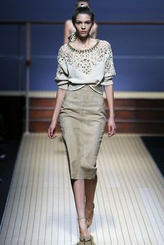 ERMANNO 2014 | .becomegorgeous.com/fashion-style/photos/ermanno-scervino-spring-2014 ...