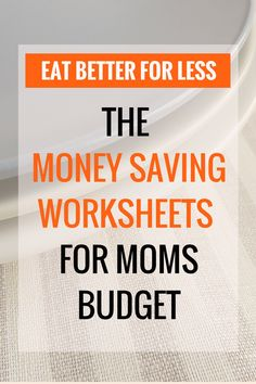Wants to get started saving money on food without clipping coupons? Learn how to cut your food budget down to less than $200 per month. The money-saving worksheets will save you time, save you money and promotes healthy food. #mealprep #savingmoney #printable #frugal #finances #budget