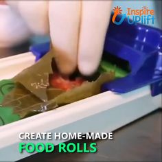 cooking tips - With its simple, onemotion operation the Vegetable & Meat Roller makes it easy to prepare delicious food rolls right in the comfort of your own kitchen Just lay the leaf down, spoon your filling on and move the slider forward Yes, it Cool Kitchen Gadgets, Kitchen Hacks, Cool Gadgets, Cool Kitchens, Kitchen Tools, Kitchen Decor, Cooking Gadgets, Cooking Tools, Cooking Recipes
