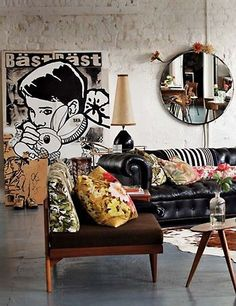 Love this eclectic mix