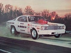 More vintage Pro Stock Racing Team, Drag Racing, Auto Racing, Cool Car Pictures, Stock Pictures, Nhra Pro Stock, Plymouth Muscle Cars, Plymouth Duster, Car Racer