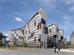 SUTD Housing and Sports / LOOK Architects + Surbana International Consultants