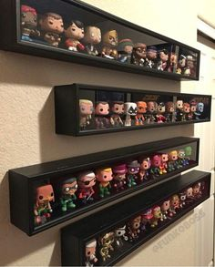 Baseball bat cases to display Pops! More A display case presents the inner-self of the creator. With a look at the display case, you can know the person inside. There are DIY display case ideas. Funko Pop Display, Display Shelves, Display Cases, Toy Display, Shadow Box Display Case, Glass Shelves, Display Ideas, Funko Pop Shelves, Lego Display Case