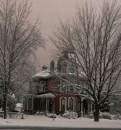 Brick Victorian. Goderich, Ontario
