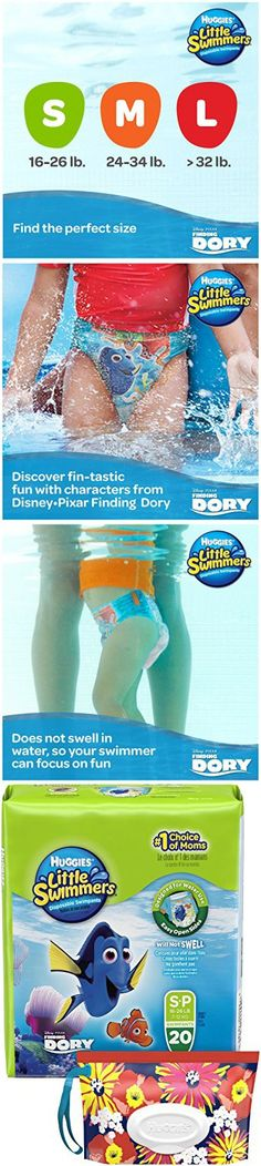 Huggies Little Swimmers Diapers - Small - 20 ct