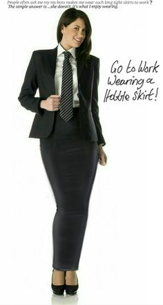 This business secretary wears what she likes to work ..... that's why some…