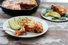 End of the Week Frittata, perfect for all those leftover veggies you have in the fridge!