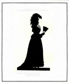 Die Goethezeit in Silhouetten 1911, Carlotte von Stein  ill 21