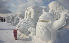 Cool Snow Sculpture Wild Things: Wish I was there!