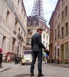 Neal in Paris.