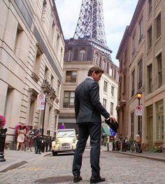 Neal in Paris.