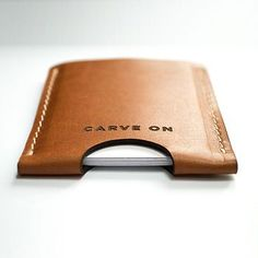 Vegetable Tanned Leather Card Holder