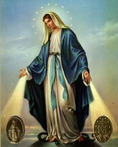 JEZUS en MARIA Groep.: NOVEENGEBED TOT MARIA VAN DE WONDERDADIGE MEDAILLE