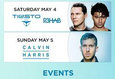 Wet Republic | Hot 100 Friday 5.3 | Tiesto and Rehab Saturday 5.4 | Calvin Harris Sunday 5.5