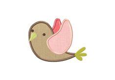 Little Birdie Applique 5_5 Inch