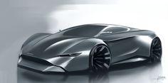 Aston Martin by Edouard Suzeau