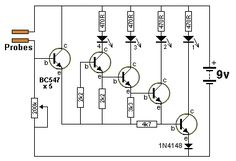 """a transformer) increasing the supply to a higher voltage to illuminate one or two LEDs in series. The """"LED Basic Electronic Circuits, Electronic Schematics, Electronic Engineering, Electrical Engineering, Simple Electronics, Electronics Basics, Electronics Components, Electronics Projects, Electrical Circuit Diagram"""