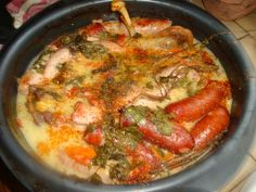 Cassoulet !!! tupperware Diners, Paella, Muffins, Meat, Ethnic Recipes, Blog, Photos, Sausages, Cooking Recipes