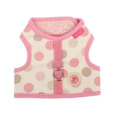 PINKAHOLIC NEW YORK Pinkaholic New York Tenderfoot Pinka Harness for Dogs, Large, Pink