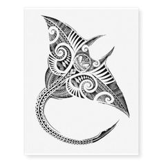 Shop maori stingray temporary tattoo created by kiwifunnys. Personalize it with photos & text or purchase as is! Hawaiian Tattoo Meanings, Polynesian Tattoo Meanings, Hawaiian Flower Tattoos, Hawaiian Tribal Tattoos, Polynesian Tattoos, Tribal Shoulder Tattoos, Tribal Tattoos For Women, Shoulder Tattoos For Women, Tribal Sleeve Tattoos