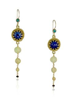 Vanessa Mellet Jewelry is delicate handcrafted jewelry made in gold, silver and gemstones. 18k Gold Earrings, Drop Earrings, Australian Opal, Night Skies, Blue Sapphire, Handcrafted Jewelry, Delicate, Jewelry Making, Gemstones