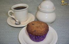 Exquisitos muffins de coco y chocolate