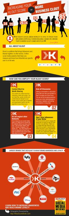 4 Tips To Increase Your Klout Score [Infographic] | #klout #socialmedia #marketing #influence