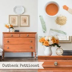 Outback Petticoat our New Miss Mustard Seed's Milk Paint