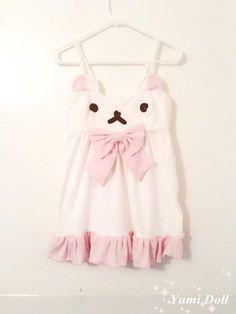 Kawaii fashion dress - omg <3 i dont know where id wear this but id find somewhere this is sa cute! im gannna die!!!